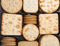 Biskuite für Käse lizenzfreies stockfoto
