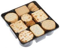 Biskuite für Käse stockbilder