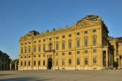 Biskup siedziba w WÃ ¼ rzburg, Niemcy Zdjęcia Royalty Free