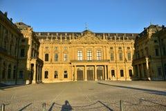 Biskup siedziba w WÃ ¼ rzburg, Niemcy Obrazy Stock