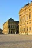 Biskup siedziba w WÃ ¼ rzburg, Niemcy Obraz Stock