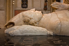 biskupa grobowiec Obraz Royalty Free