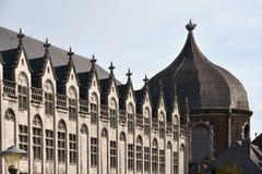 biskupa pałac, Liege, Walloon region Belgia zdjęcia stock