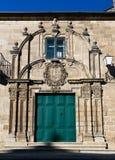 Biskupa pałac w Lugo Obrazy Stock