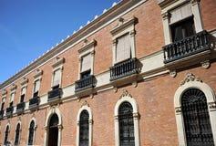 Biskupi pałac w Ciudad Real, Castilla los angeles Mancha, Hiszpania Zdjęcie Stock