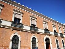 Biskupi pałac w Ciudad Real, Castilla los angeles Mancha, Hiszpania Obrazy Royalty Free