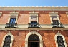 Biskupi pałac w Ciudad Real, Castilla los angeles Mancha, Hiszpania Fotografia Royalty Free