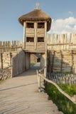 Biskupin考古学博物馆-波兰。 免版税库存图片