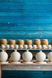 biskwitowa ceramiczna półka Fotografia Royalty Free