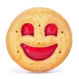 biskwitowy smiley Obraz Stock