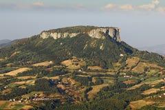 Bismantova, paysage. images stock