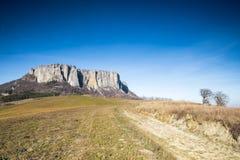 Bismantova sten Italien Royaltyfri Fotografi