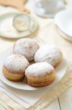 Bismarck donuts Stock Images