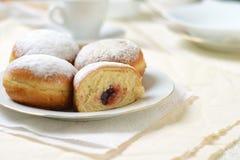 Bismarck donuts Stock Photos