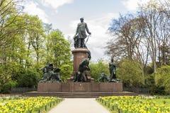 The Bismarck Memorial & x28;Bismarck-Nationaldenkmal& x29; in Berlin, Germ Royalty Free Stock Photography