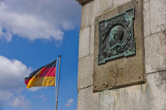 Bismarck Memorial on the Castle Hill in Bad Harzburg Royalty Free Stock Photos