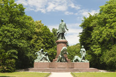 Bismarck statue Royalty Free Stock Images