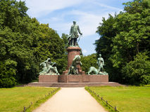 Bismarck statue in berlin Stock Photography