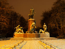 Bismarck statue in berlin Stock Photo