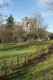Bismarckwarte (Bismarck observation point) in Lindenfels Stock Photography