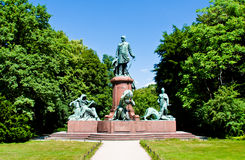 Bismark monument in Berlin Royalty Free Stock Image