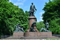 Bismark Statue Royalty Free Stock Photo