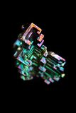 Bismuth (bismuthium) metal Royalty Free Stock Image