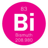 Bismuth chemical element Stock Photo