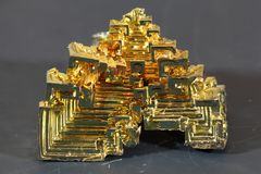 Bismuth metal Royalty Free Stock Photo