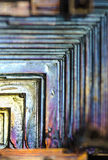 Bismuto abstrato imagens de stock
