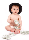 Bisness Baby Royalty Free Stock Images