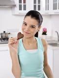 Bisogno del cioccolato Fotografie Stock