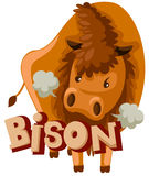Bison vector illustration