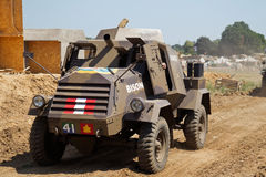 Bison armoured car Stock Photography