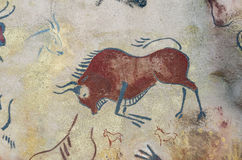 BISON PAINTINGS Stock Images