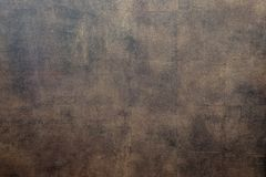 Bison skin. Texture of bison leather. Skin texture. Bison leather, bronze color, brown color. The texture of the painted skin of royalty free stock photography