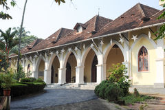 Bisop house at Fort Cochin Royalty Free Stock Image