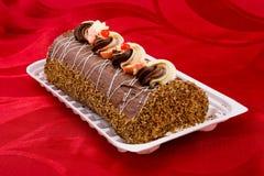 bisquit κέικ στοκ φωτογραφία
