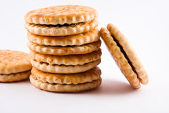 Bisquit Kuchen Lizenzfreies Stockbild