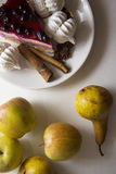 Bisquits και φρούτα 04 Στοκ εικόνες με δικαίωμα ελεύθερης χρήσης
