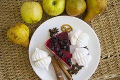 Bisquits και φρούτα 10 Στοκ Φωτογραφία
