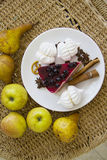 Bisquits και φρούτα 11 Στοκ Εικόνα