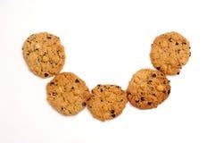 Bisquits dulces de la sonrisa Fotografía de archivo libre de regalías