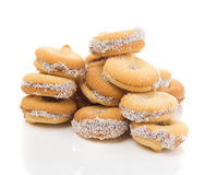Bisquits woth coconut Royalty Free Stock Photography