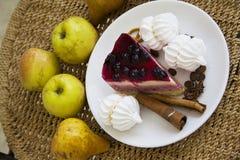Bisquits y frutas 13 Fotografía de archivo libre de regalías