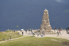 Bisrmark Memorial at the Feldberg Summit, Germany Stock Images