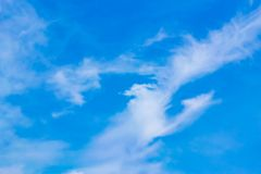 Biss Byte ist eine Goldwolke in der Wolke stockfoto