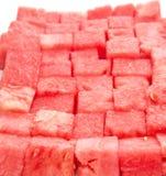 Biss sortierte Wassermelone III Lizenzfreie Stockfotos