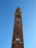 The Bissara tower in Vicenza. Italy Royalty Free Stock Image