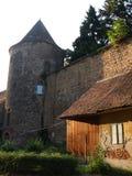 Bisschoppelijk kasteel stock afbeeldingen